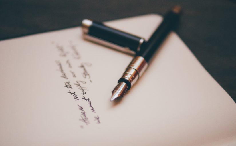 Plek om te schrijven