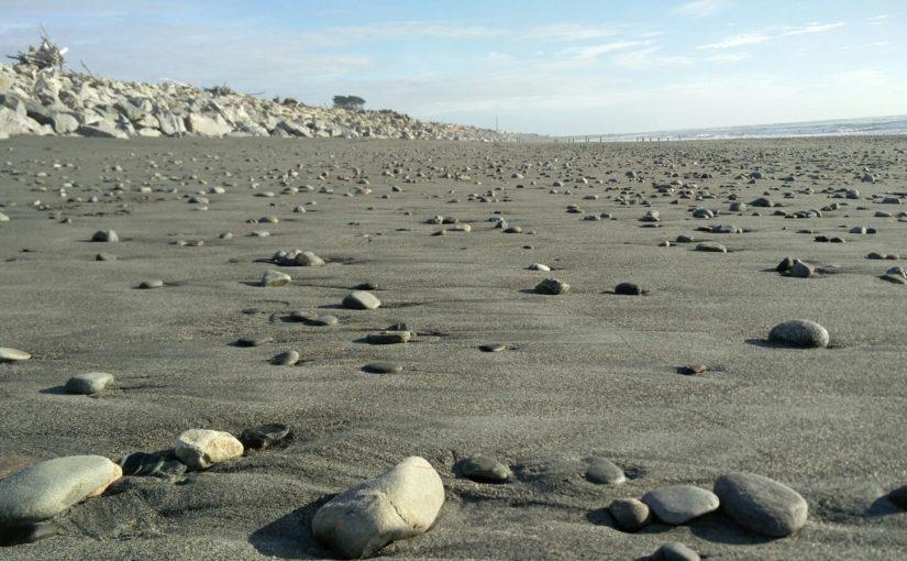 Grote stenen en kiezels