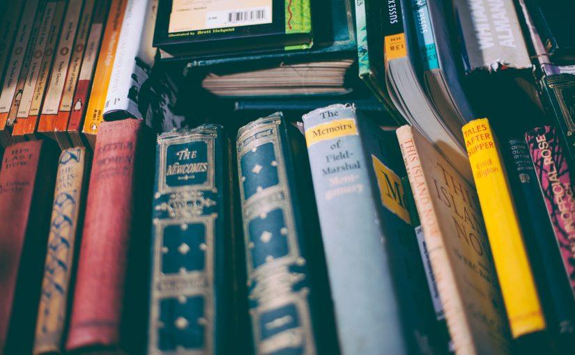 Van boeken krijg je nooit genoeg